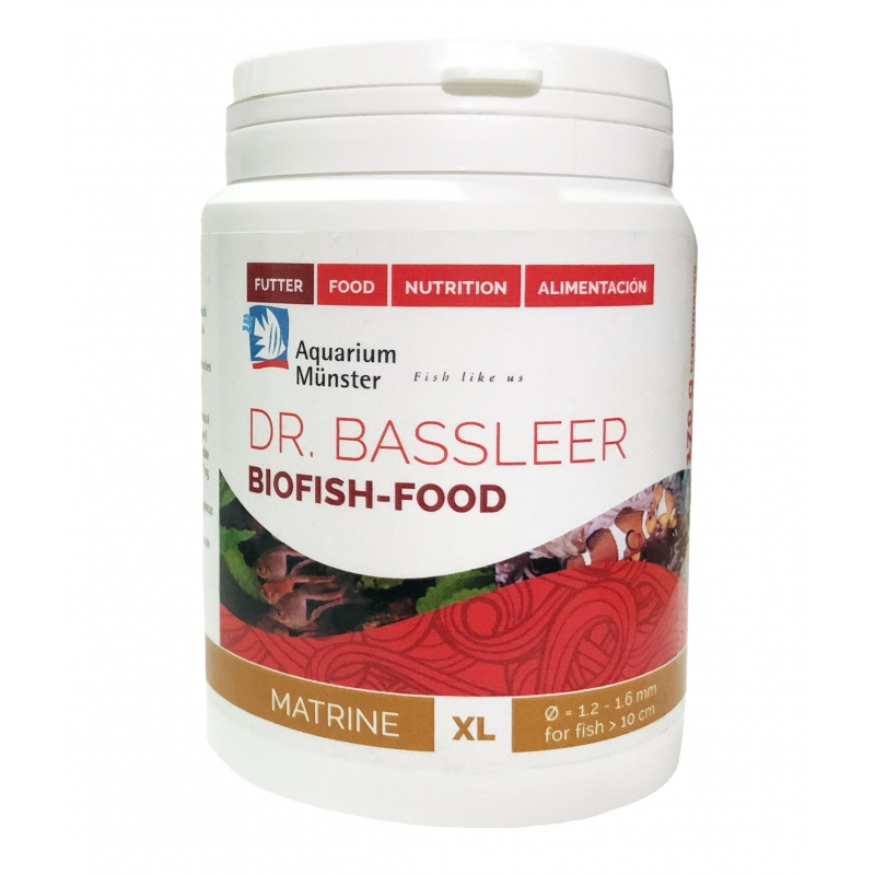 DR BASSLEER BIOFISH FOOD MATRINE (XL) 170 GR