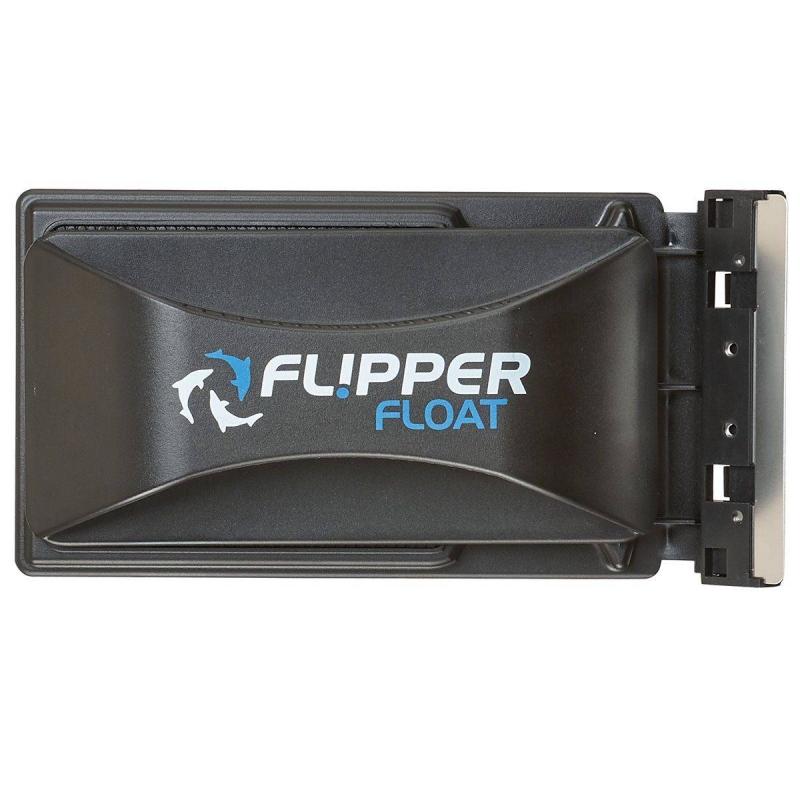 FLIPPER LIMPIADOR MAGNETICO FLOTANTE PARA VIDRIO /ACRILICO DE HASTA 12 MM